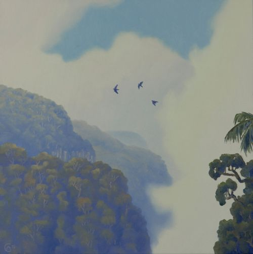 Birds Across the Gorge